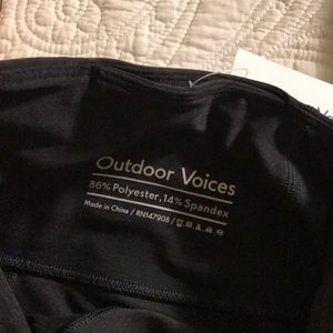 Outdoor Voices Pants - Outdoor voices night waisted leggings